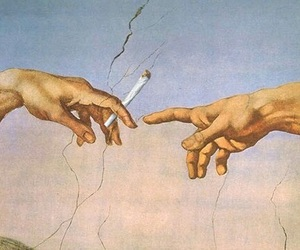 art, puff puff pass, and weed image