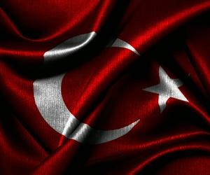 bayrak, türk bayrağı, and kırmızı beyaz image