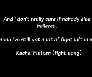 fight, quotes, and song image