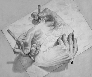 art, endless, and realistic image