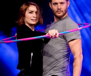 supernatural, Jensen Ackles, and Felicia Day image