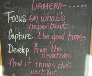 blackboard, quotes, and chalk image