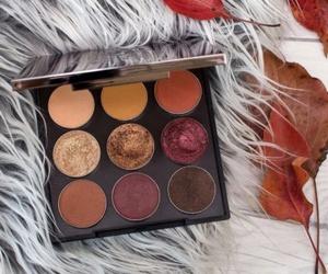 makeup, fall, and eyeshadow image