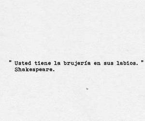 lips, shakespeare, and frases image