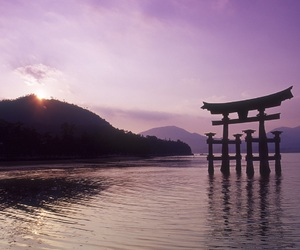 japan, wallpaper, and water image