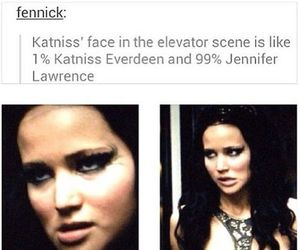 Jennifer Lawrence, katniss everdeen, and catching fire image