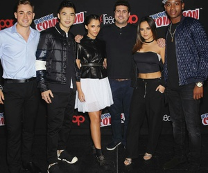 power rangers and becky g image