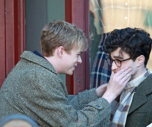daniel radcliffe, kill your darlings, and dane dehaan image