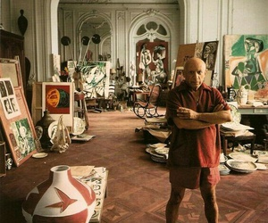 picasso, art, and artist image