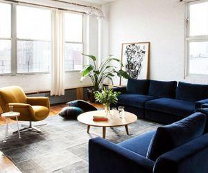 apartment, interior, and sofa image