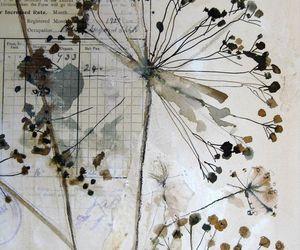 art, artistic, and botanical image