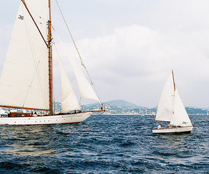 boats, photography, and sail image