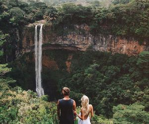 nature, couple, and travel image
