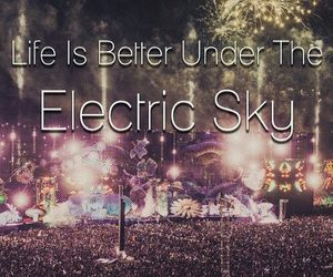 music, edm, and rave image