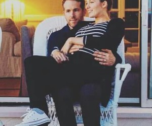 baby, couple, and ryan reynolds image