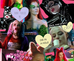 cat woman, catwoman, and Collage image