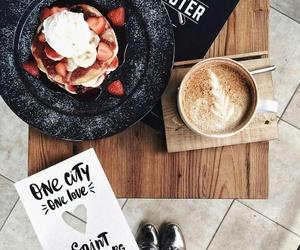 fall, food, and coffee image