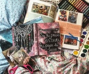 art, inspiration, and studying image