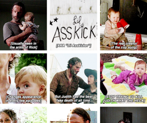 girl, the walking dead, and twd image