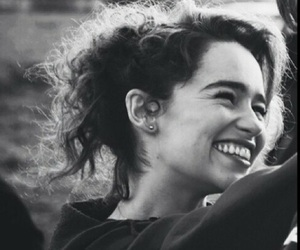 emilia clarke, smile, and happy image