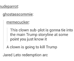 clowns, funny, and jared leto image
