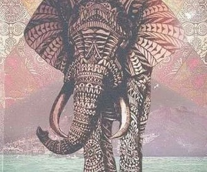 elephant, tattoo, and animal image