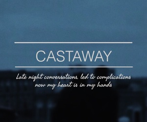 Lyrics, castaway, and sgfg image