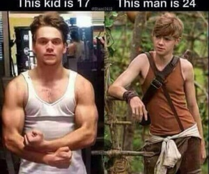 newt, dylansprayberry, and teenwolf image