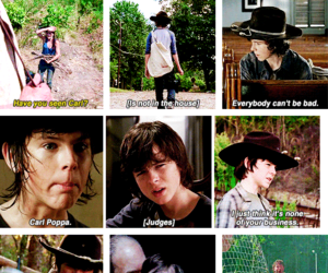 boy, lovely, and the walking dead image
