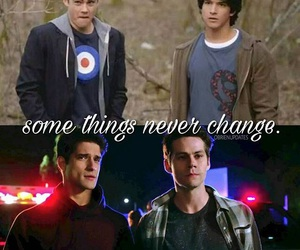 teen wolf, o'brosey, and sciles image