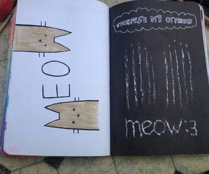 meow and wreck this journal image