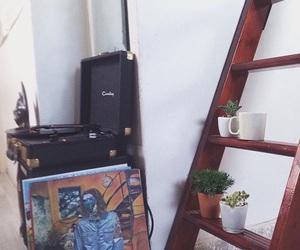 decor, room, and vinyl image