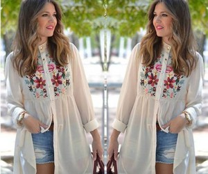 shirt dress outfit image