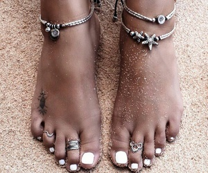 cool, feet, and nail polish image