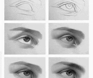 drawing, arte, and tutorial image