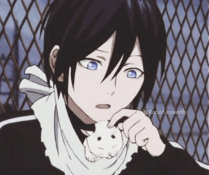 anime, noragami, and yato image