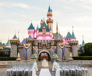castle, ceremony, and disney image