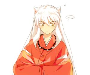 inuyasha, anime, and sweet image