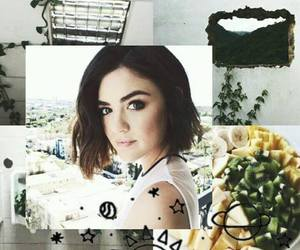 wallpaper, lucy hale, and pretty little liars image