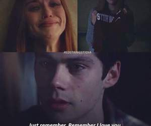 dylan, teen wolf, and holland roden image