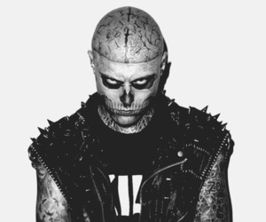 zombie boy, black and white, and boy image