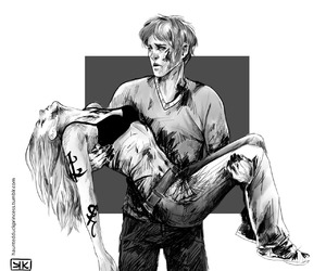 emma carstairs, lady midnight, and julian blackthorn image
