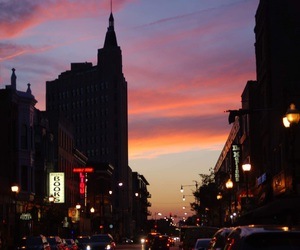 sunset and wickerpark image