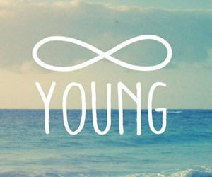 young, forever, and wallpaper image