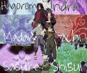 anime, susanoo, and itachi image