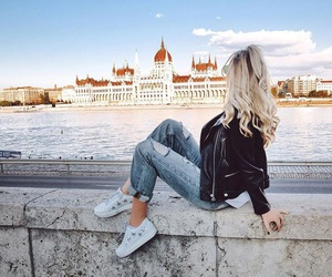 budapest, hair, and hungary image