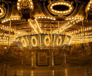 carousel, fast, and lights image