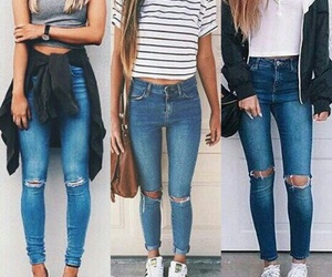 casual, pants, and fashion image
