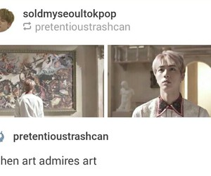 art, funny, and jin image