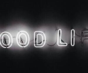 black, good, and white image